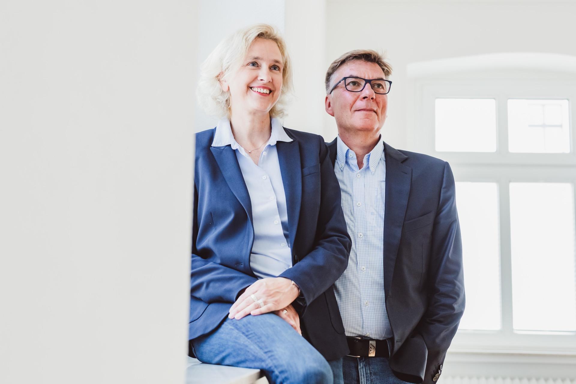 Susanne Thüner und Karsten Dröge